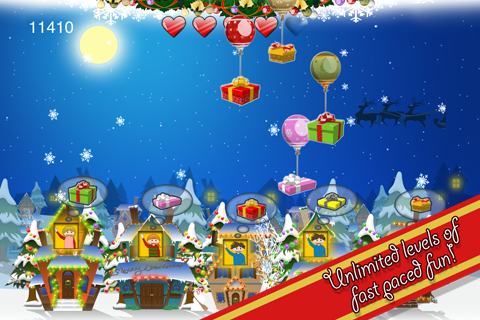 Screenshot Santa's Floating Gifts