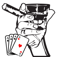 Manly Video Poker: Play 6 Jacks or Better Casino Card Games Like A Boss